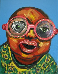 #11 Cee-Lo's Baby Acrylic on Canvas 14 x 11 in.