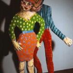 A Gathering 1987 Papier-mâché  21 Figures Life Size