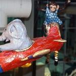 Circus 1997 Papier-mâché Sculptural Installation