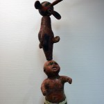 #11 Cee Lo's Baby (front) 2017 Mixed Media 73 x 14 x 25 in.